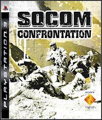 Okładka SOCOM: Confrontation (PS3)