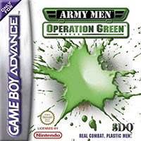 Okładka Army Men: Operation Green (GBA)