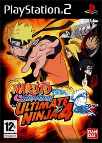 Okładka Ultimate Ninja 4: Naruto Shippuden (PS2)