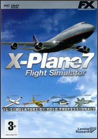 Okładka X-Plane 7 (PC)