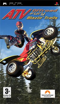 Okładka ATV Offroad Fury: Blazin' Trails (PSP)