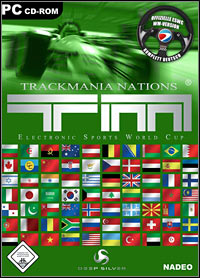 Game Box for Trackmania Nations (PC)