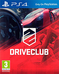 Game Box for DriveClub (PS4)