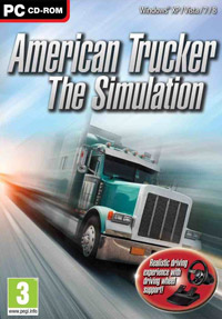Game Box for American Trucker: The Simulation (PC)