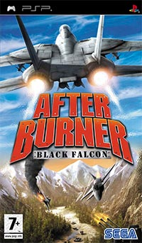 Game Box for After Burner: Black Falcon (PSP)