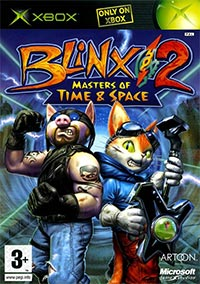 Okładka Blinx 2: Masters of Time and Space (XBOX)