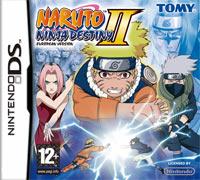 Okładka Naruto Shippuden: Ninja Destiny 2 (NDS)