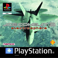 Game Box for Ace Combat 3: Electrosphere (PS1)