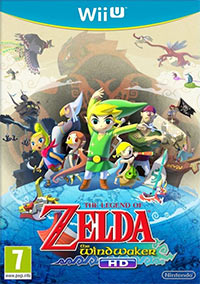 Game Box for The Legend of Zelda: The Wind Waker HD (WiiU)