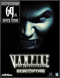 Okładka Vampire: The Masquerade - Redemption (PC)