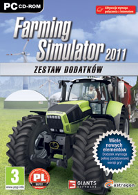 Game Box for Farming Simulator 2011: Official Add-On (PC)