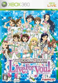 Okładka The Idolmaster Live For You! (X360)