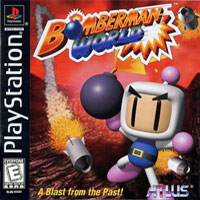 Game Box for Bomberman World (PS1)