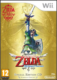 Okładka The Legend of Zelda: Skyward Sword (Wii)