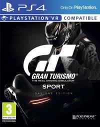 Okładka Gran Turismo Sport (PS4)