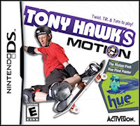 Okładka Tony Hawk's Motion (NDS)