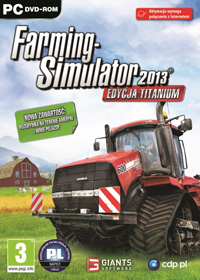 Okładka Farming Simulator 2013: Titanium Edition (PC)