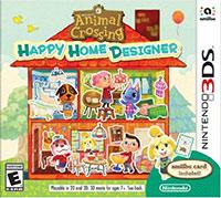Okładka Animal Crossing: Happy Home Designer (3DS)