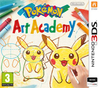 Okładka Pokemon Art Academy (3DS)