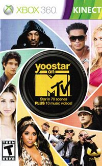 Game Box for Yoostar on MTV (X360)