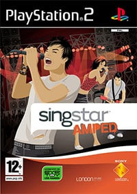 Okładka SingStar Amped (PS2)
