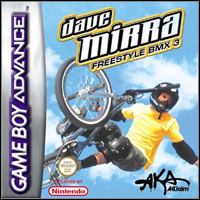 Game Box for Dave Mirra Freestyle BMX 3 (GBA)