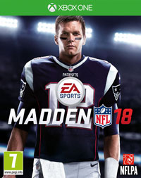 Game Madden NFL 18 (PS4) cover