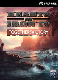 Game Box for Hearts of Iron IV: Together for Victory (PC)