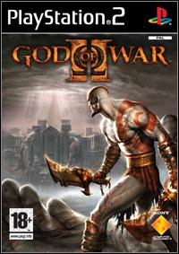 Okładka God of War II (PS2)