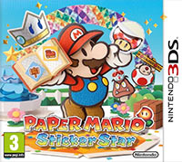 Game Box for Paper Mario Sticker Star (3DS)