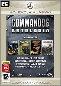 Game Box for Commandos: Antologia (PC)
