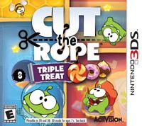 Okładka Cut the Rope: Triple Treat (3DS)