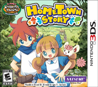 Okładka HomeTown Story (3DS)
