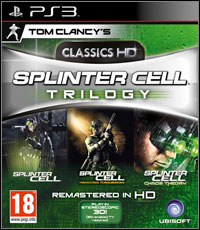 Okładka Tom Clancy's Splinter Cell Trilogy (PS3)
