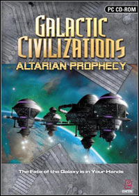 Okładka Galactic Civilizations: Altarian Prophecy (PC)