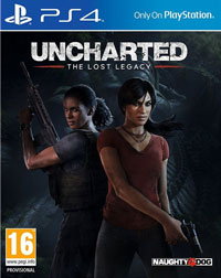 Okładka Uncharted: The Lost Legacy (PS4)