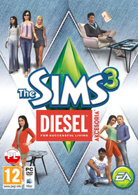 Okładka The Sims 3 Diesel Stuff (PC)