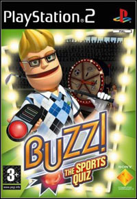Game Box for Buzz! The Sports Quiz (PS2)