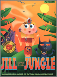Game Box for Jill of the Jungle (PC)