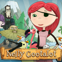 Game Box for Nelly Cootalot: The Fowl Fleet (PC)