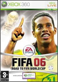 Okładka FIFA 06: Road to World Cup (X360)