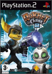 Game Box for Ratchet & Clank: Going Commando (PS2)