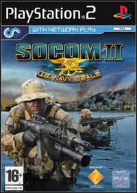 Okładka SOCOM II: U.S. Navy SEALs (PS2)