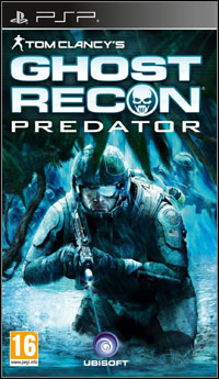 Game Box for Tom Clancy's Ghost Recon Predator (PSP)