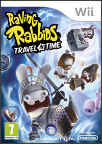 Okładka Raving Rabbids: Travel in Time (Wii)