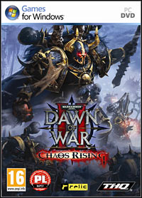 Okładka Warhammer 40,000: Dawn of War II - Chaos Rising (PC)