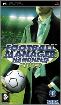 Okładka Football Manager Handheld 2007 (PSP)