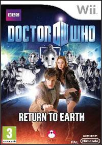 Okładka Doctor Who: Return to Earth (Wii)