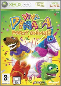 Okładka Viva Pinata: Party Animals (X360)