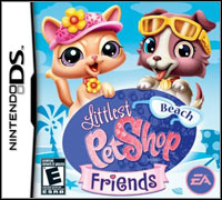 Okładka Littlest Pet Shop Friends: Beach (NDS)